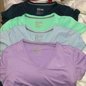 Nike dri fit legend tee V-neck (US Medium) SOLD**